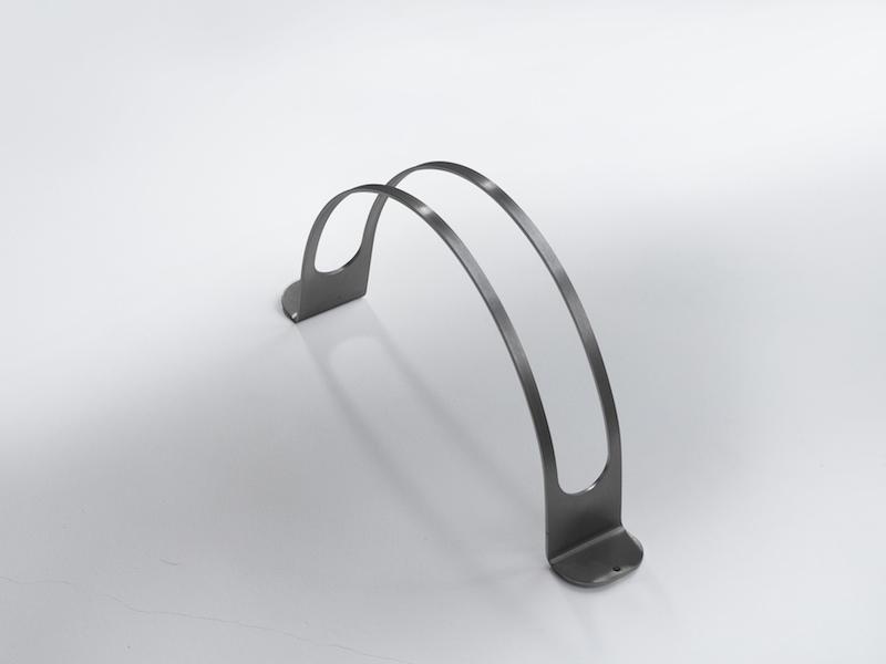 Portabiciclette acciaio inox inox designer - Porta tv da terra ...